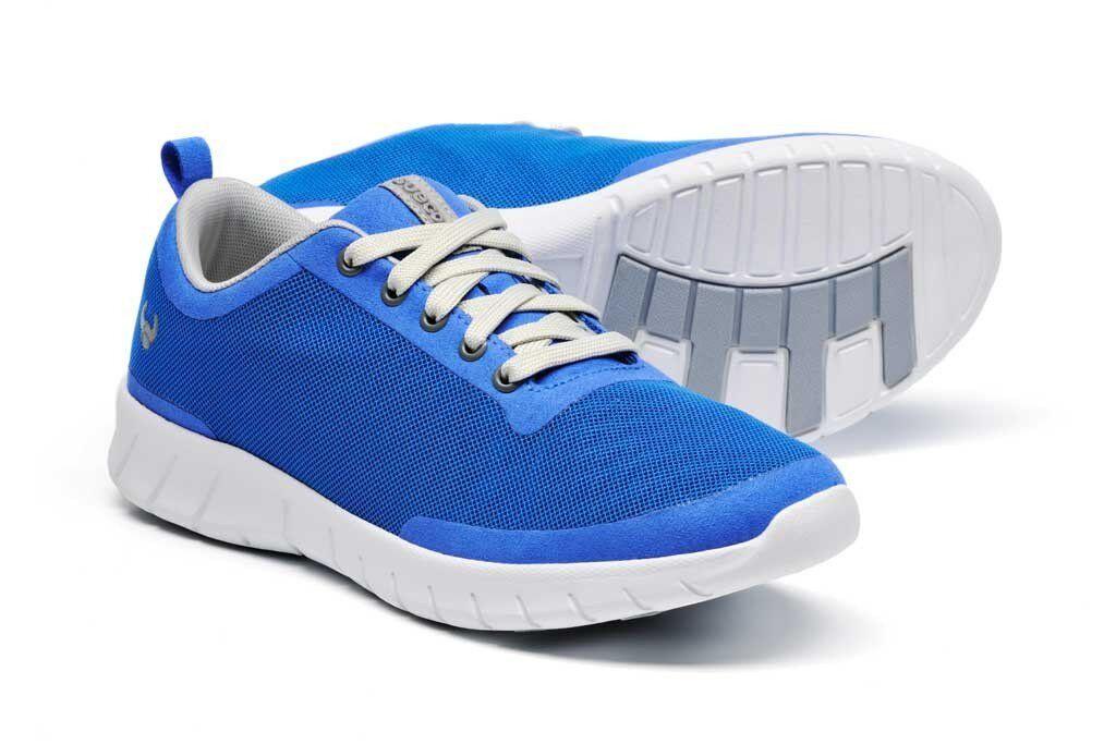 schuhe Sportive Unisex, Suecos Alma Blau-Blau n.38 in offerta