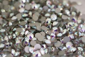 Swarovski-crystals-flat-back-clear-or-ab-non-hot-fix-for-nails-design-and-more