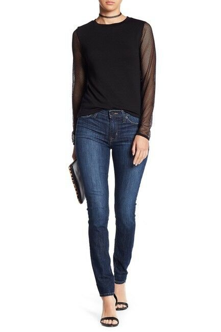 NEW WITH TAG HUDSON Mid Rise Super Skinny Jeans Size 28 Orig