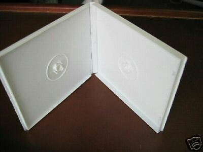 1000 DOUBLE POLY CD CASE W SLEEVE, WHITE - PSC32