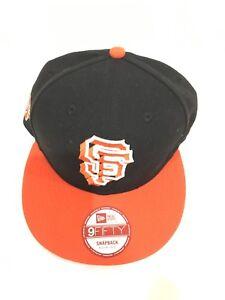 timeless design e50d3 03254 Image is loading New-Era-San-Francisco-Giants-Orange-Crown-Black-