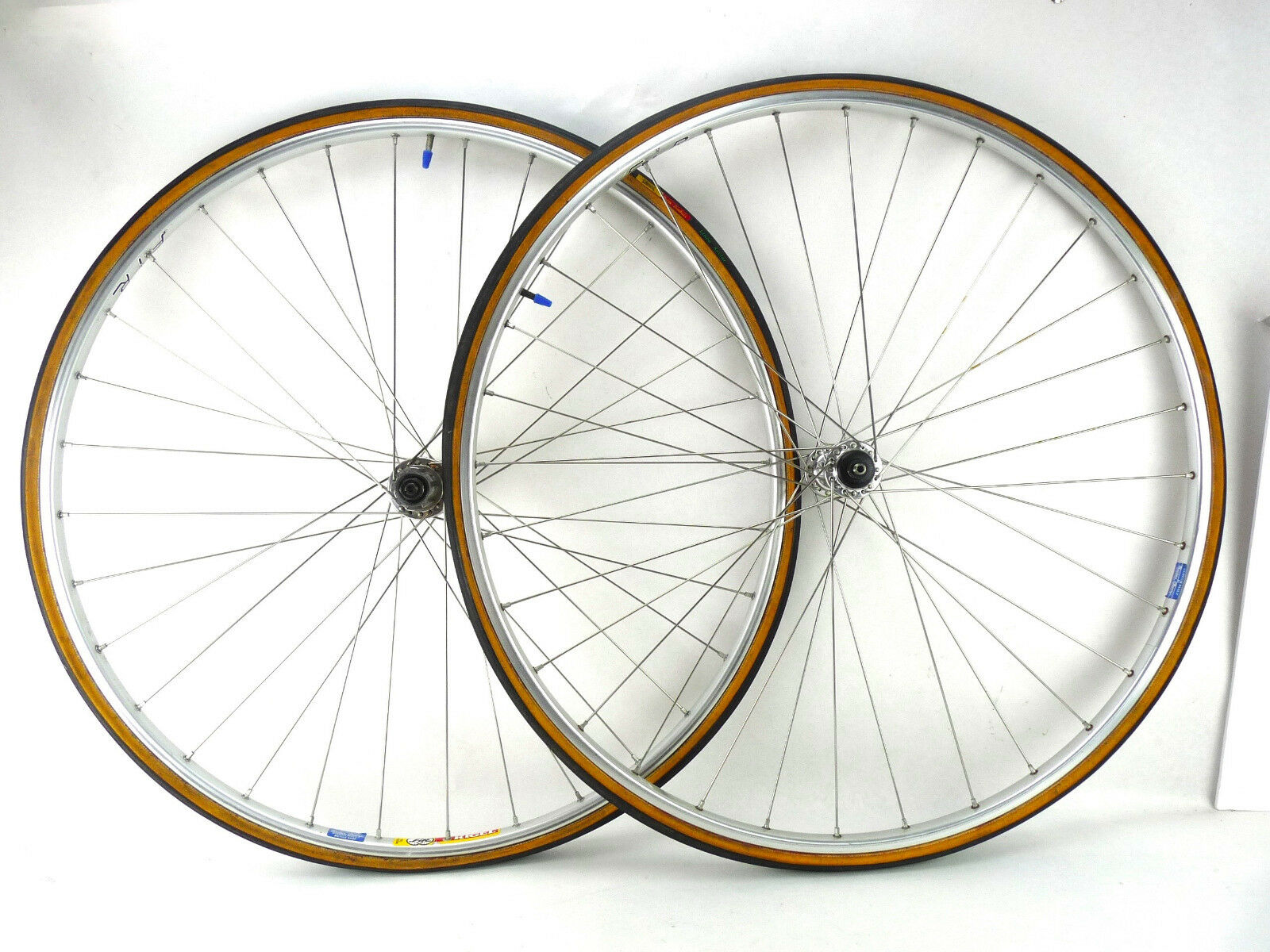 Campagnolo Wheelset Record Hubs 700C  Rims Clement Tires 9-10-11 speed Retro  online shopping