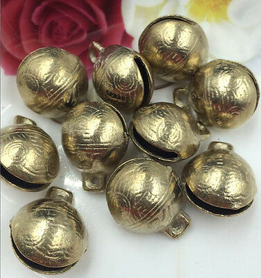 10PCS 32mm Hot selling new can be collected by China's Tibetan brass bell