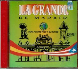La-Grande-de-Madrid-Para-Puerto-Rico-y-El-Mundo-BRAND-NEW-SEALED-CD