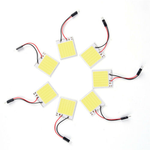 48 SMD LED COB T10 4W 12V Licht-Auto-Innenverkleidung Beleuchtung Dome-LampePPB