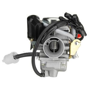 24MM-Carburateur-Carb-110-125-150cc-pr-VTT-Gokart-Roketa-Quad-GY6-Scooter-Moped