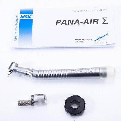 2-Hole High Speed Air Turbine Handpiece Single Water Dentist Clinic Silver New