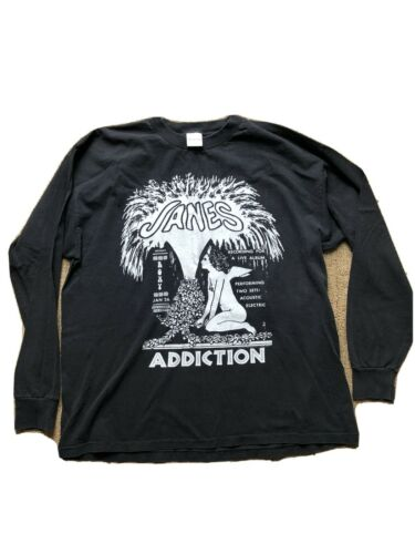 Vintage 1997 Janes Addiction T Shirt XL Fountains
