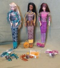 HOLLYWOOD NAILS Barbie 1999 Vintage Original Dolls Barbie, Christie, HTF Teresa