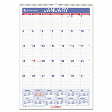 At A Glance Monthly Wall Calendar With Ruled Daily Blocks 12 X 17 White 2021