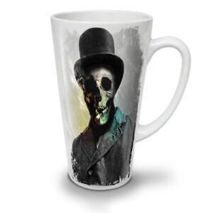 Smoking Skeleton Skull NEW White Tea Coffee Latte Mug 12 17 oz | Wellcoda