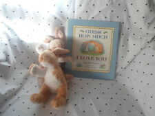 Guess How Much I Love You Book & 2 Rabbits Plush Soft Toy Stuffed Animal