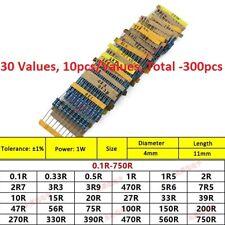 16w 14w 12w 1w 2w 3w Metal Filmcarbon Film Resistors Assorted Component Kits