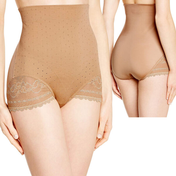 Triumph Lace Sensation High-Waist Panty Damen Miederhose Shapewear Gr. S – XL