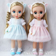 """Disney Baby Doll Clothes Cute Kitty Dress Clothing Animator's collection 16"""""""