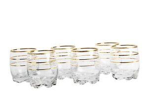 Lav-Sultan-Adora-Gold-Rim-Set-of-6-Whisky-Juice-Tumbler-Drinking-Glasses-290-ml