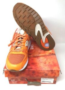 c2eb691e9c17 END. x Saucony Grid 8500  Lobster  - UK 9 Orange S70410-121 New With ...