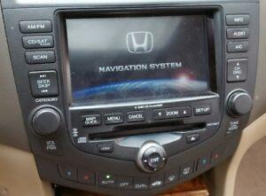 2004 2005 honda accord sedan 6 disc navigation gps cd. Black Bedroom Furniture Sets. Home Design Ideas