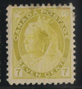 MOTON114-81-Numeral-7c-Canada-mint-well-centered