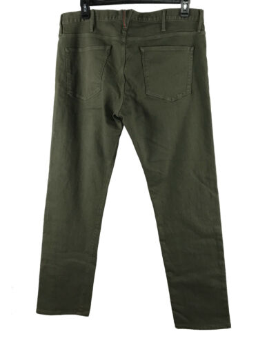 Coupe Jeans Sombre Hommes 36 Droite Marron 38 Extensible Nyc Scout Olive 34 3x1 8qaSYHwn