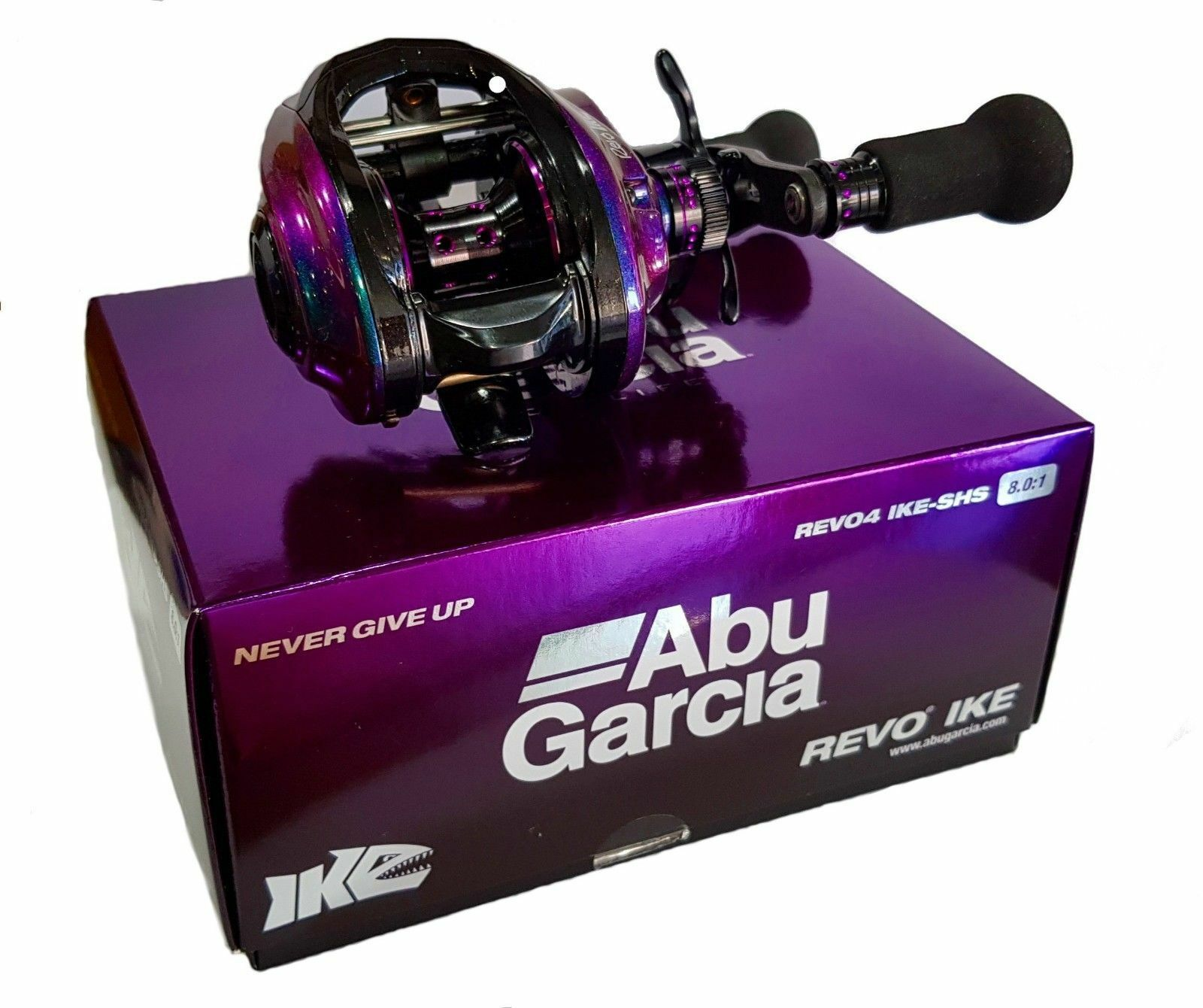 Abu Garcia Revo Revo4 IKE-SHS Right Baitcasting  Fishing Reel Free USA Shipping  order now enjoy big discount