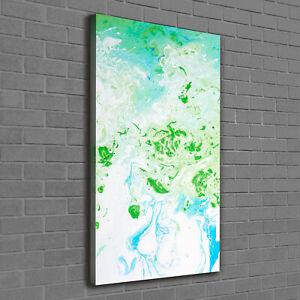 Details Zu Leinwand Bild Kunstdruck Hochformat 60x120 Bilder Abstrakte Flecken