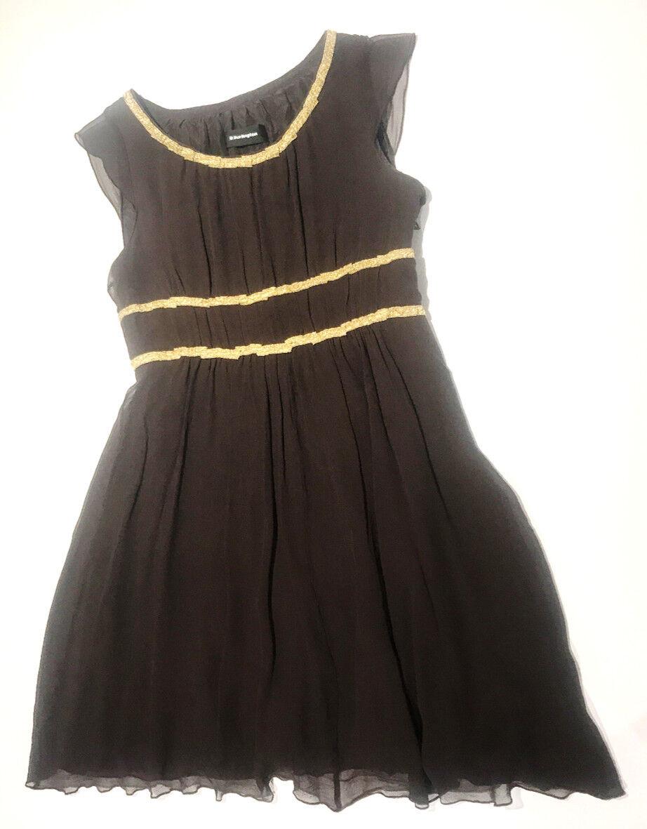 Kleid Seide Burlington Größe 36