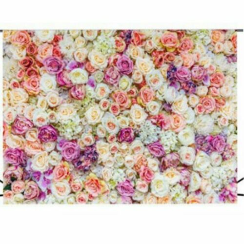 Romantic Flower Wedding Photography Background Vinyl Photo  Spiffy Backdrop Prop