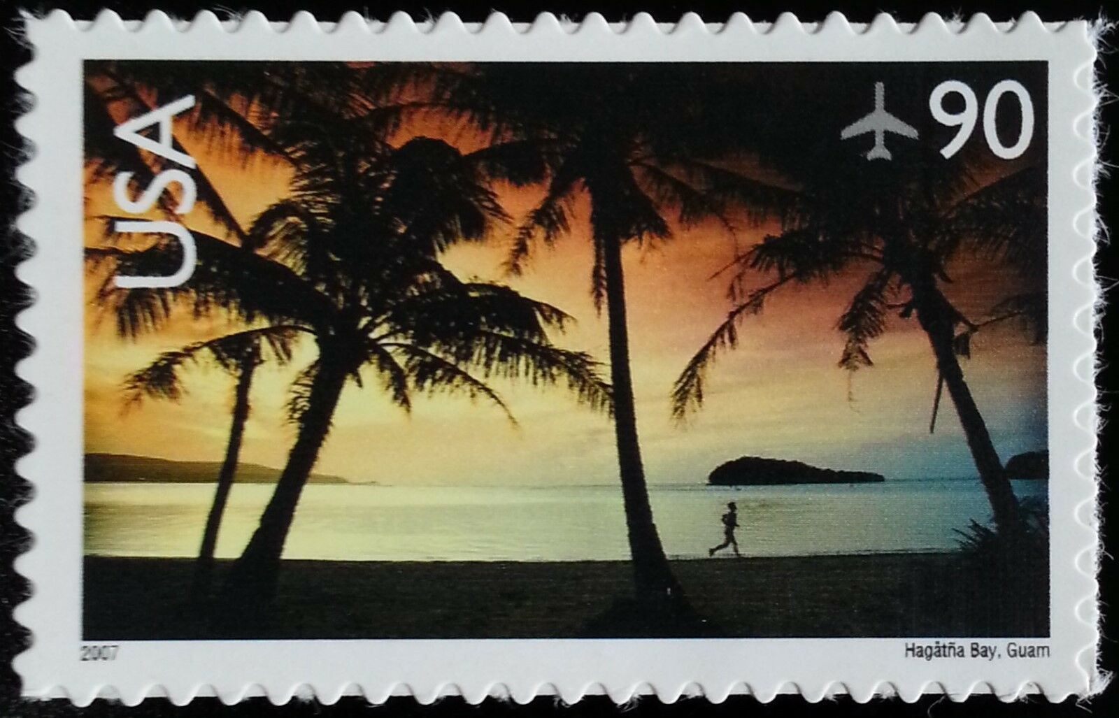 2007 90c Hagatna Bay, Guam Scott C143 Mint F/VF NH