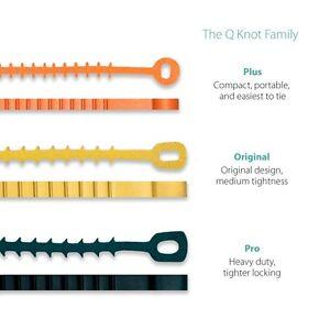 0cb75261a21c Q Knot Original, Pro, Plus, Outdoor Reusable Cable Ties - UT Wire | eBay