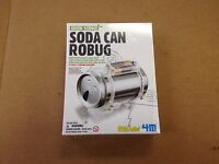 Soda Can Robug From Green Science. Make A Robot From A Soda Can