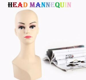 Head-Female-Mannequin-Dummy-Adjustable-Detachable-Display-Showcase
