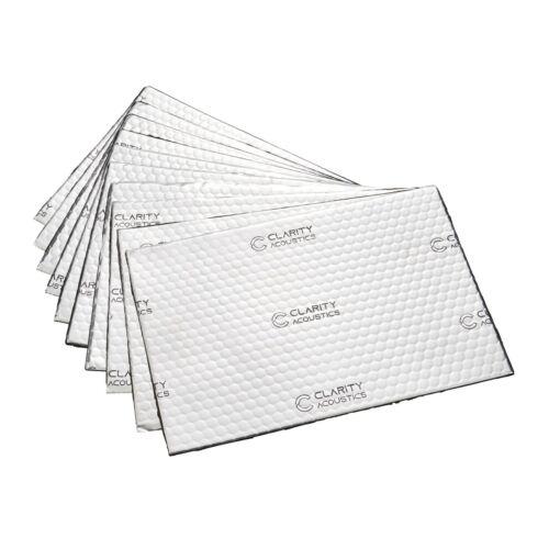 Extra Spesso Argento 2mm 2.5mm 200X300mm 300x400mm Pack Smorzante del suono Tappetino XL