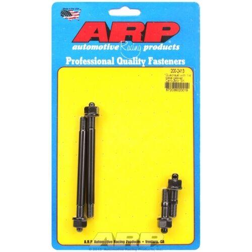 "ARP Bolts 200-2413 Quadrajet with 1//4/"" base gasket carb stud kit"