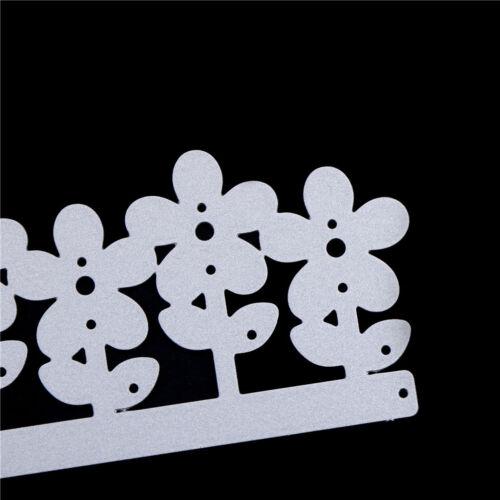 1x Blumen Serie Metall Stanzformen DIY Scrapbooking Präge Papierkarte  ^