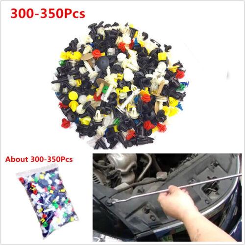 300-350 Pcs Mixed Plastic Car Vehicle Door//Bumper Rivet Door Panel Fastener Clip