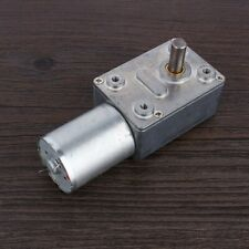 Dc 12v 2rpm Electric High Turbo Worm Geared Motor Reversible Reduction Motor Usa