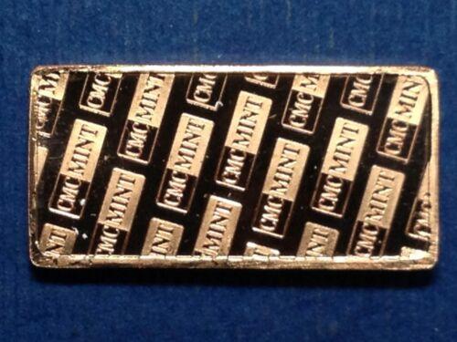 5 Gram .999 Fine Copper Ship Bar CMC Mint