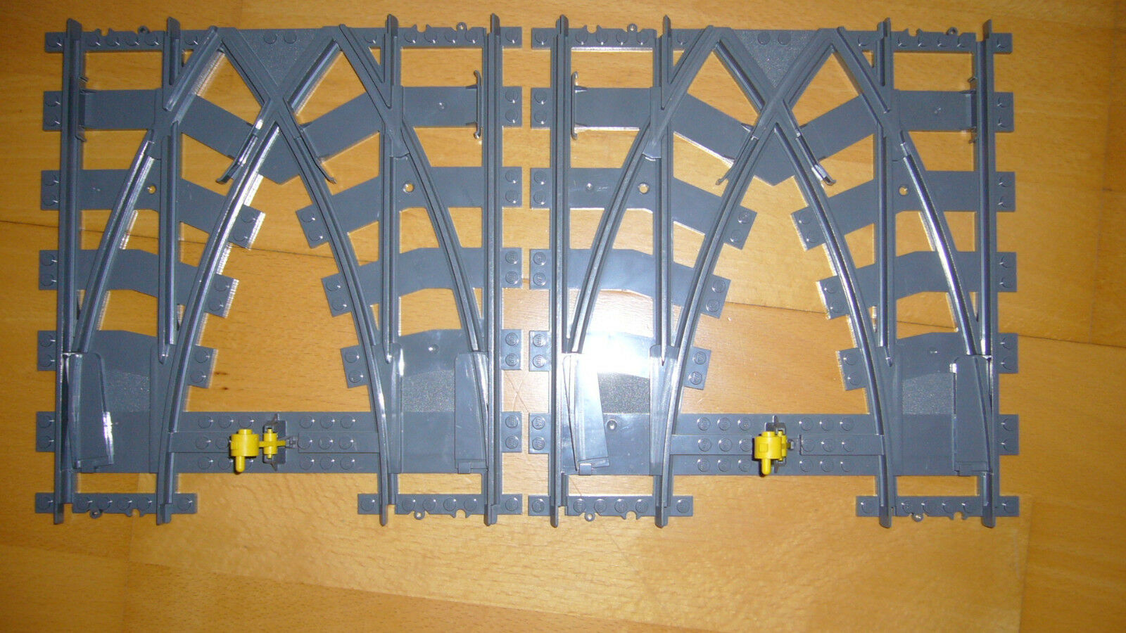 Lego 7996 tecnología City ferrocarril doble suaves cruz suaves cruce switch World