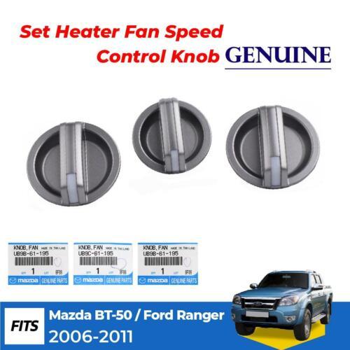 Para Mazda BT-50 Ford Ranger 2006-11 Calentador de aire con control de velocidad del ventilador perilla de A//C