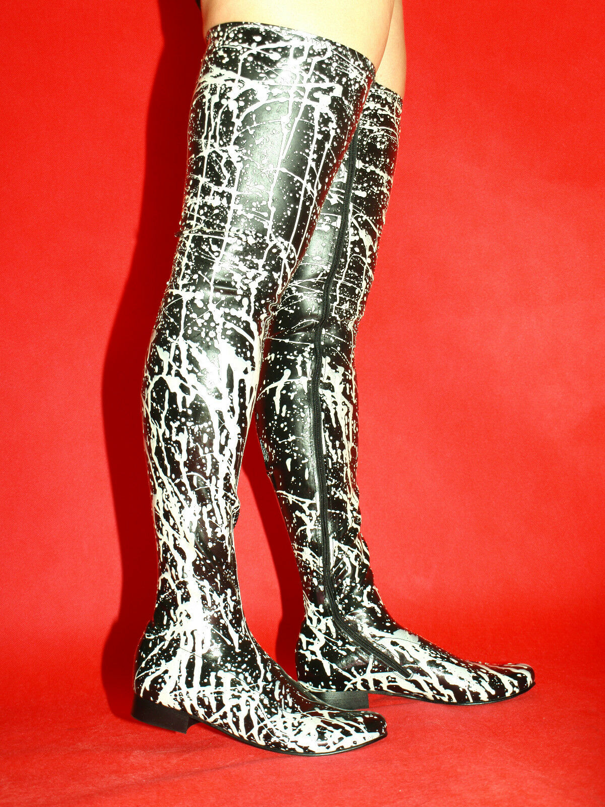 High heels, latex gummi 36 37 38 39 40 41 42 43 44 45 46 47 48 Bolingier FS1200