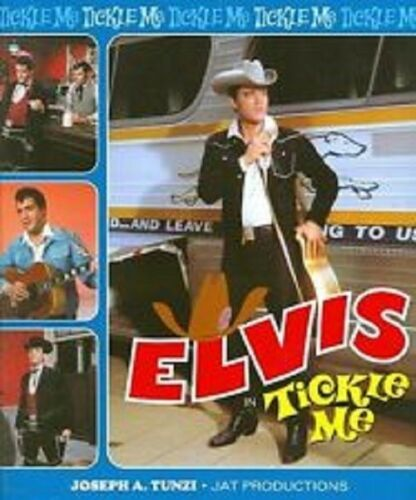 "ELVIS ""TICKLE ME"" <>OOP<> JOETunzi Limited Edition Collectors Book"