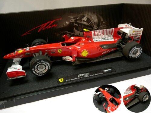 Ferrari f10 bahrain gp 2010 elite hotwheels 1   18   t6257