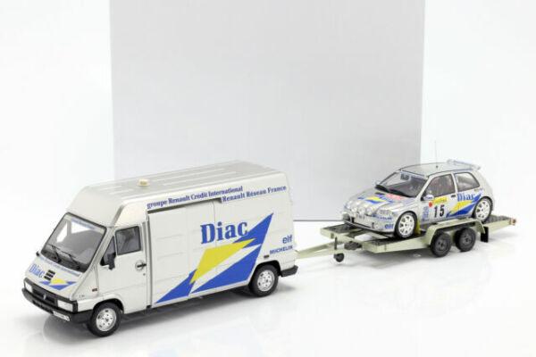 Renault Clio Maxi #15 Night Version Bugalski Lacs Monte Carlo 1995 Voiture 1:18