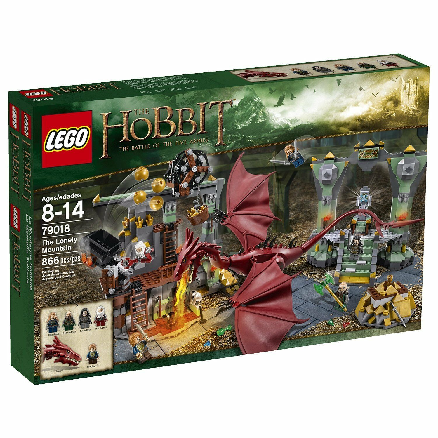 LEGO 79018 - The Hobbit - The Lonely Mountain - New   Factory Sealed