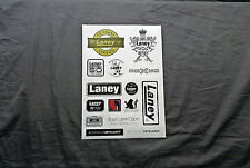 Laney Amplifiers Sticker Sheet (15)
