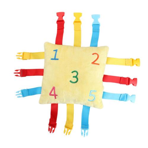 BUCKLE TOY-Kids Early Learning Habiletés fondamentales de la vie Activité