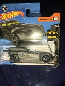Hot-Wheels-Batimovil-Batman-2019-serie-2-5-Gris-Plateado-Nuevo-M-Casting