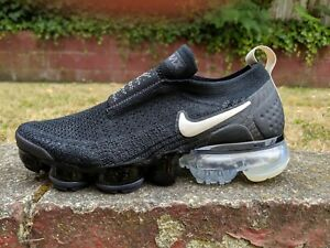 free shipping low cost really comfortable Details about DS NIKE AIR VAPORMAX FLYKNIT MOC 2 BLACK CREAM sz 6.5 presto  90 max 270 360
