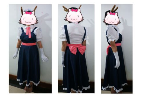 Brand new Miss Kobayashi/'s Dragon Maid Tohru Cos Clothing Hot Cosplay